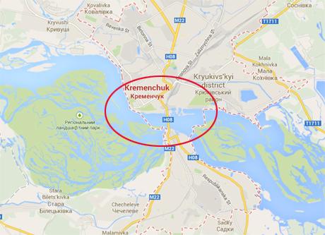 В Кременчуге предотвращена попытка подрыва моста через Днепр